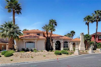 Henderson NV Single Family Home For Sale: $1,350,000