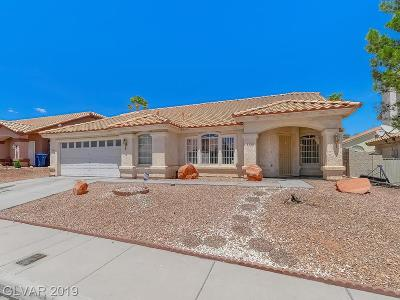 Las Vegas Single Family Home Under Contract - Show: 8940 Prominence Lane
