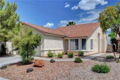 Las Vegas Single Family Home Under Contract - No Show: 1608 Eagle Peak Way