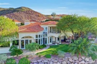 Boulder City Single Family Home For Sale: 224 Hallett Cove Court