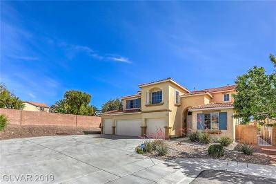 North Las Vegas Single Family Home Under Contract - Show: 1640 Fontana Cliffs Court