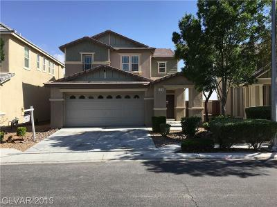 North Las Vegas NV Single Family Home For Sale: $248,000
