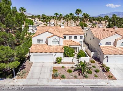 Las Vegas Single Family Home For Sale: 8024 Shorecrest Drive