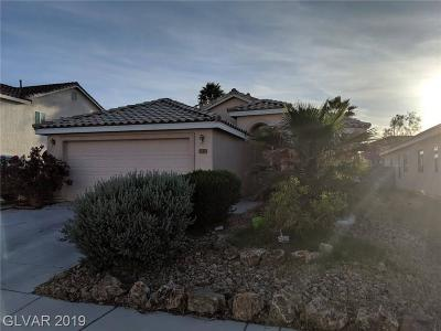 North Las Vegas Single Family Home For Sale: 5209 Manor Stone Street