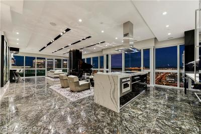 Las Vegas High Rise For Sale: 4471 Dean Martin Drive #4407