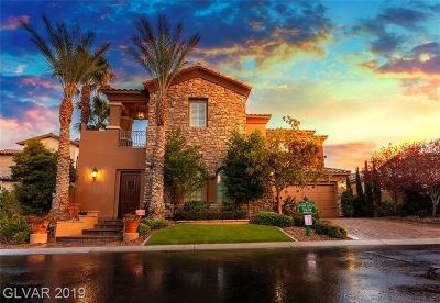Las Vegas Single Family Home For Sale: 4079 Villa Rafael Drive
