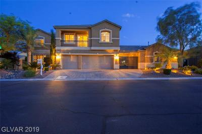 Las Vegas Single Family Home For Sale: 3853 Pasilla Avenue