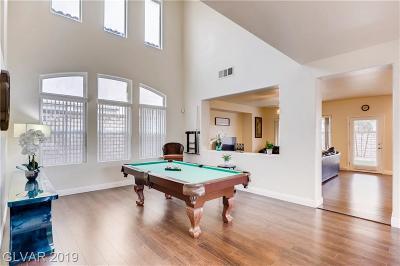 Las Vegas Single Family Home For Sale: 856 Colina Alta Place
