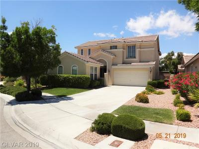 Las Vegas Single Family Home For Sale: 3347 Chesterbrook Court