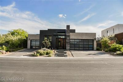 Las Vegas Single Family Home For Sale: 35 Sun Glow Lane