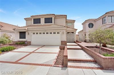 Las Vegas Single Family Home For Sale: 8753 Captains Place
