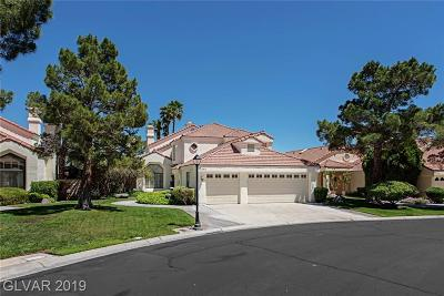 Las Vegas Single Family Home For Sale: 7701 Tinted Mesa Court