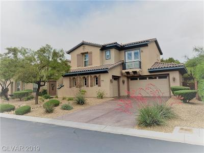 Las Vegas Single Family Home For Sale: 10079 Magical View Street