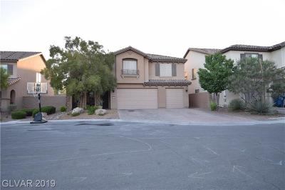 Las Vegas Single Family Home For Sale: 7419 Lassen Peak Circle