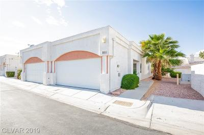 Las Vegas Condo/Townhouse For Sale: 6452 Melody Rose Avenue
