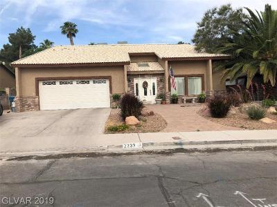 Henderson Single Family Home For Sale: 2233 Marlboro Drive
