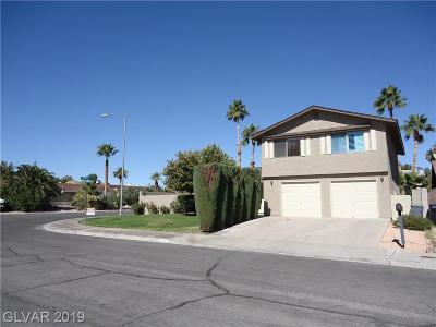 Henderson Single Family Home For Sale: 3109 La Entrada Street
