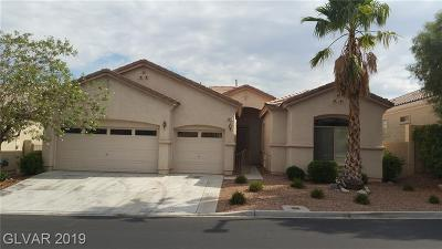Las Vegas Single Family Home For Sale: 10717 Refectory Avenue