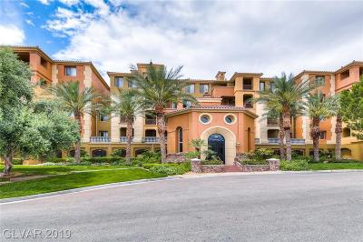Viera Condo Amd, V At Lake Las Vegas, Mantova-Phase 1, Mantova-Phase 2, South Shore Villas Amd, Luna Di Lusso Condo 2nd Amd, Luna Di Lusso Condo 3rd Amd, Parcel 6n-4-A Vita Bella Condo/Townhouse For Sale: 20 Via Mantova #106