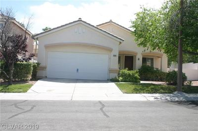 Las Vegas Single Family Home For Sale: 10145 Pinnacle View Place