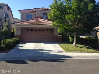 Las Vegas Single Family Home For Sale: 11610 Costa Linda Avenue