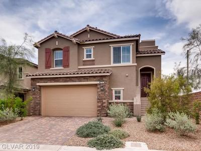 Las Vegas Single Family Home For Sale: 7797 Tableland View Court