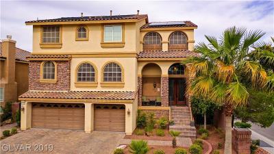 Las Vegas NV Single Family Home For Sale: $628,888