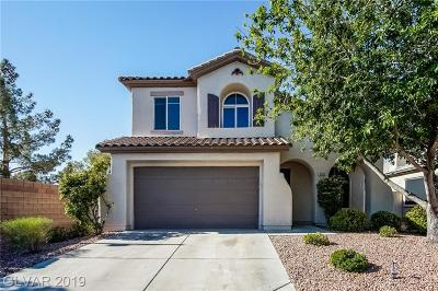 Las Vegas Single Family Home For Sale: 5101 Amethyst Creek Court