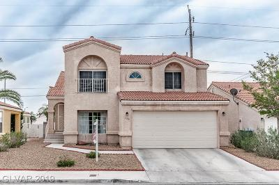 Las Vegas Single Family Home For Sale: 1604 Royal Palm Drive