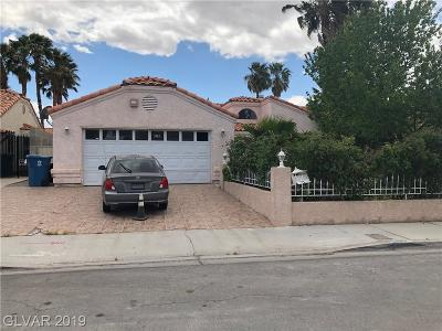 Las Vegas Single Family Home For Sale: 3955 Duneville Street