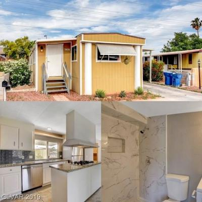 Las Vegas Manufactured Home For Sale: 3474 Lost Hills Drive