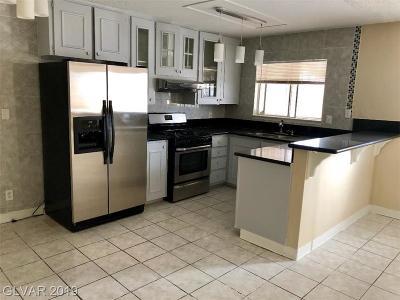 North Las Vegas Single Family Home For Sale: 3025 Van Der Meer Street