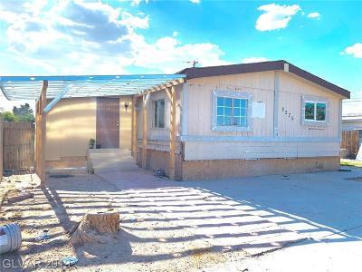 Las Vegas Manufactured Home For Sale: 2275 Glenwood Lane