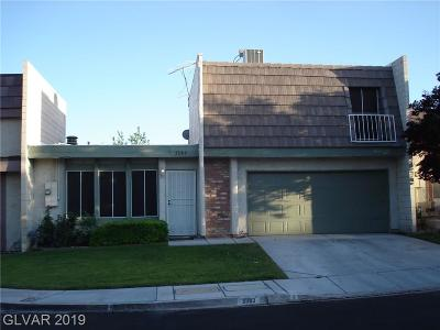 Clark County Condo/Townhouse For Sale: 3383 Royce Court