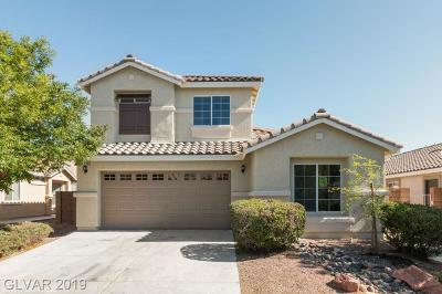 North Las Vegas Single Family Home For Sale: 4716 Silverwind Road