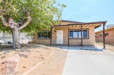North Las Vegas Single Family Home For Sale: 851 West Carey Avenue