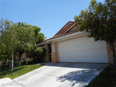 Las Vegas Single Family Home For Sale: 1436 Iron Springs Drive