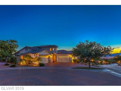 Henderson Single Family Home For Sale: 3001 Via Meridiana