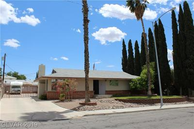 Boulder City Single Family Home For Sale: 621 Northridge Drive
