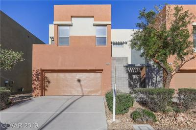 North Las Vegas Condo/Townhouse For Sale: 6456 Spiced Butter Rum Street