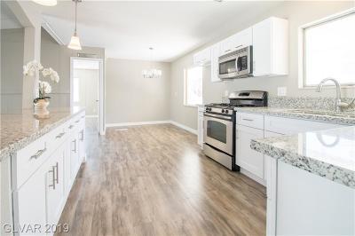 Las Vegas Manufactured Home For Sale: 6441 Delphinium Avenue
