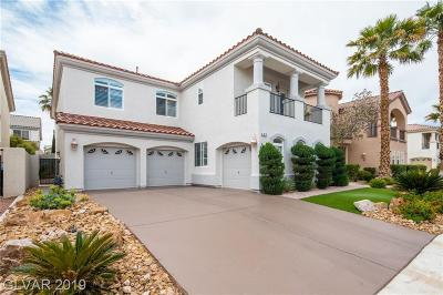 Las Vegas, Henderson Single Family Home For Sale: 43 Big Creek Court