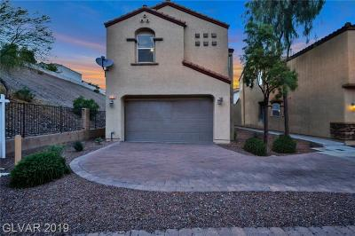 Henderson Single Family Home For Sale: 1556 Otero Valley Court