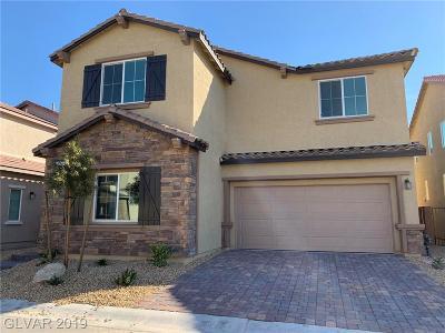 Las Vegas Single Family Home For Sale: 7757 Pyrenees Park Drive