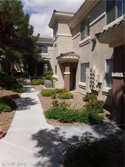 Las Vegas Condo/Townhouse For Sale: 9050 Warm Springs Road #1137