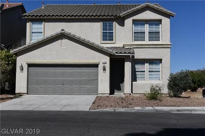 Las Vegas Single Family Home For Sale: 11719 San Rossore Court