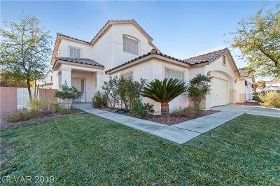 Henderson Single Family Home For Sale: 995 Prestige Meadows Place