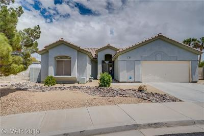 Las Vegas Single Family Home For Sale: 7004 Manny Street
