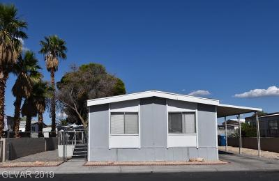 Las Vegas Manufactured Home Under Contract - No Show: 3364 Death Valley Drive