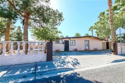 Las Vegas Single Family Home For Sale: 724 Bruce Street